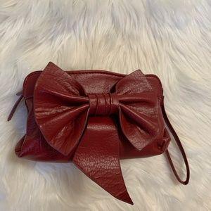 Multiuse bag Maroon makeup/cosmetic
